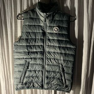 Gray Abercrombie and Fitch Vest